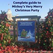 guide to mickey u0027s very merry christmas party for 2017