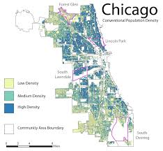 Chicago City Map by Perdue