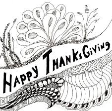 coloring page thanksgiving happy thangsgiving 1