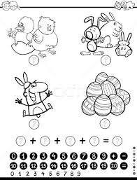 easter coloring stock photos stock images vectors