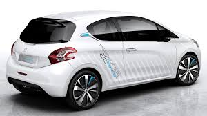 peugeot 208 sedan peugeot 208 hybrid air 2l concept heading to paris motor show