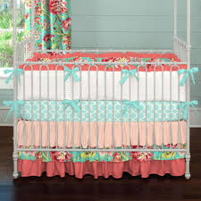 pink bedding for girls bed bedding sets crib teal and pink neutral bumper for cribs