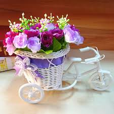online get cheap flower basket for bicycle aliexpress com