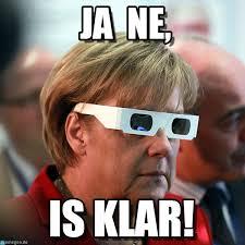 Ne Memes - merkel ja ne is klar memes german pinterest memes