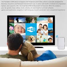 wifi pocket mini dlp led projector smart tv box for android ios