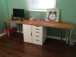 office makeover part one diy desk ikea hack
