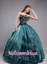 sweetheart ball gown elegant quinceaneras dress in teal in chatsworth