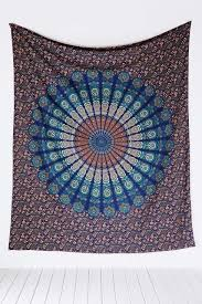 amazon com handmade cotton mandala bedspread throw bohemian