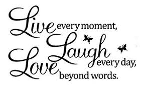 amazon com live laugh love butterflies wall decals pvc