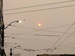 Wildfires Burning In Washington State by Ash Covers Oregon Cities Wildfire Smoke Chokes Us West The