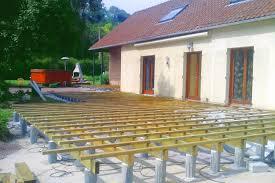 jacuzzi bois exterieur pour terrasse cuisine nivrem u003d terrasse bois lambourde espacement diverses idã