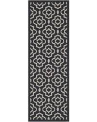 Indoor Outdoor Rug Runner Amazing Winter Savings On Safavieh Courtyard Black Indoor Outdoor