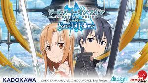 sword art online board game sword of fellows by japanime games