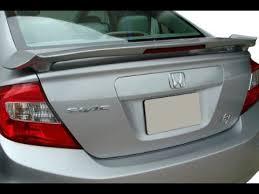 top 5 honda civic sedan spoiler painted in the factory paint code