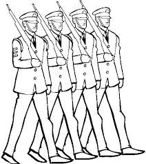 soldiers marching cliparts cliparts zone
