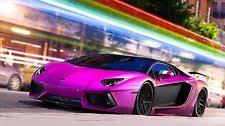 pink lamborghini aventador lamborghini aventador poster ebay