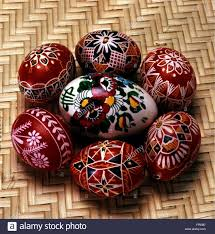 wax easter egg decorating tradition folklore easter easter eggs coloured decorated with