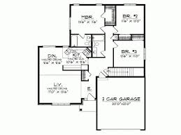 modern design house plans awesome 1 story modern house plans new home plans design