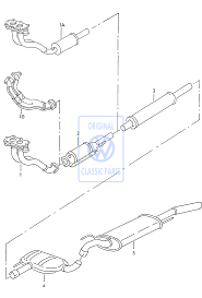 front exhaust pipe for the golf mk3