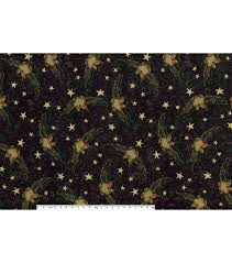 Joann Halloween Fabric by Halloween Cotton Fabric Owls And Stars Joann