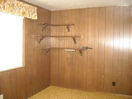 Distressed Wood Wall Panels by Painting Wood Paneling Tips