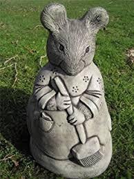 rabbit garden ornament n co uk garden outdoors