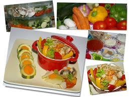 recette cuisine vapeur méli mélo de légumes au cuit vapeur et sa sauce tomate parfumée
