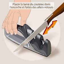comment aiguiser un couteau de cuisine comment aiguiser un couteau ooreka