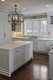 rosewood honey presidential square door white kitchen cabinets