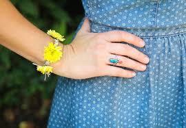 macrame flower bracelet images Refreshing real flower bracelet for stylish ladies jpg