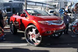 nissan murano red top 10 worst ugly and tacky cars from sema 2015 autoguide com news