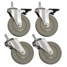 sandusky 4 in industrial casters 4 pack wcasterset4 the home