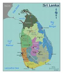 Sri Lanka On World Map by Large Regions Map Of Sri Lanka Sri Lanka Asia Mapsland