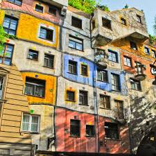 vienna travel guide klm travel guide the colours of hundertwasserhaus