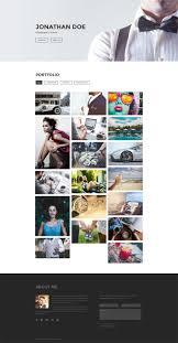 focus free photography portfolio template bootstrap templates