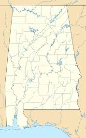 Southeastern Usa Map by Alabama Wikipedia