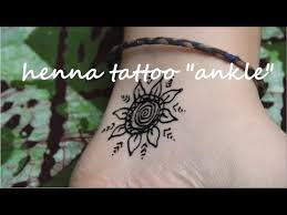 diy henna tattoo