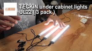 kitchen cabinet lighting uk teckin cabinet led lights review uk