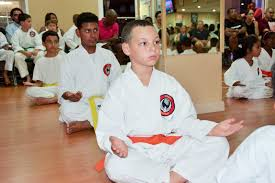 karate students graduate cayman compass