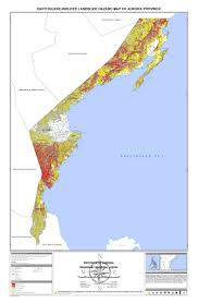 Aurora Zip Code Map by Namria The Central Mapping Agency Of The Government Of The