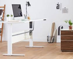 Motorized Adjustable Height Desk by Network Plus Sit Stand Desk Desks Scandinavian Designs