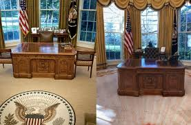 oval office decor see the changes donald trump made to the oval office aol lifestyle