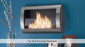 the wall mounted fireplace youtube