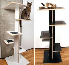 modern cat tree ikea modern cat furniture acacia baobab modern cat trees from square
