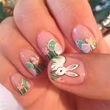 easy easter bunny nail art designs u0026 ideas 2014 for beginners