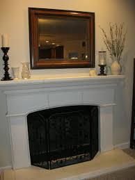 mantle decor simple mantle house pinterest mantelpiece fireplace mantel