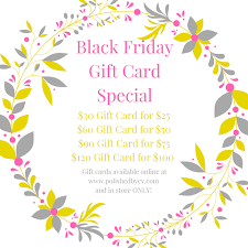 gift card specials black friday gift card specials polished by v
