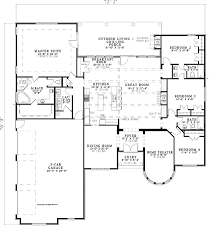 turret house plans country style house plan 4 beds 3 baths 3022 sq ft plan 17 3340