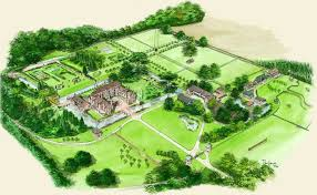 estate map the manor of kentwell kentwell visits