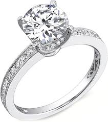 channel set engagement rings sylvie channel set engagement ring sy122